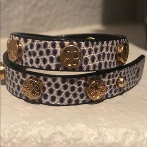 ❤️ Authentic Tory Burch wrap bracelet NWOT